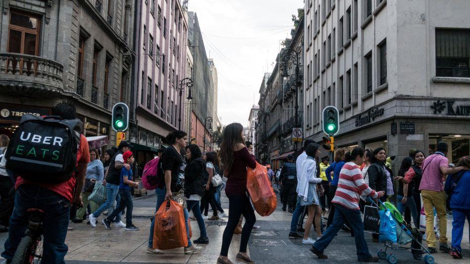 Shopping At Forum Buenavista Mall Ahead Of Retail Sales Figures