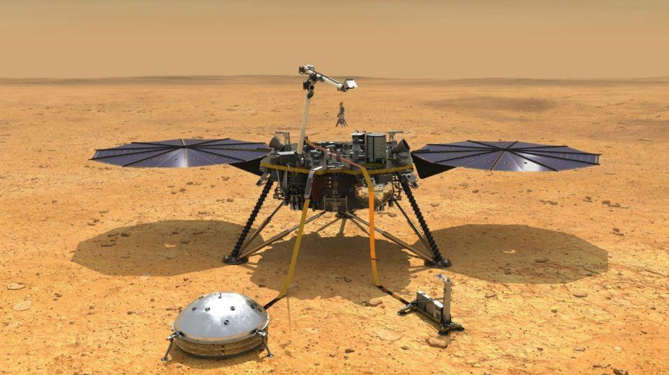mision insight planeta marte