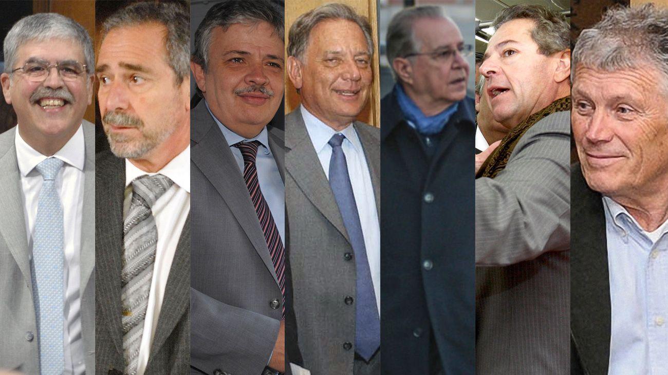 De Vido, Jaime, Schiavi y cuatro empresarios van a indagatoria por coimas en Transporte