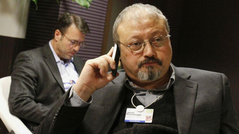 Jamal Khashoggi, el periodista saudí asesinato en el consulado.