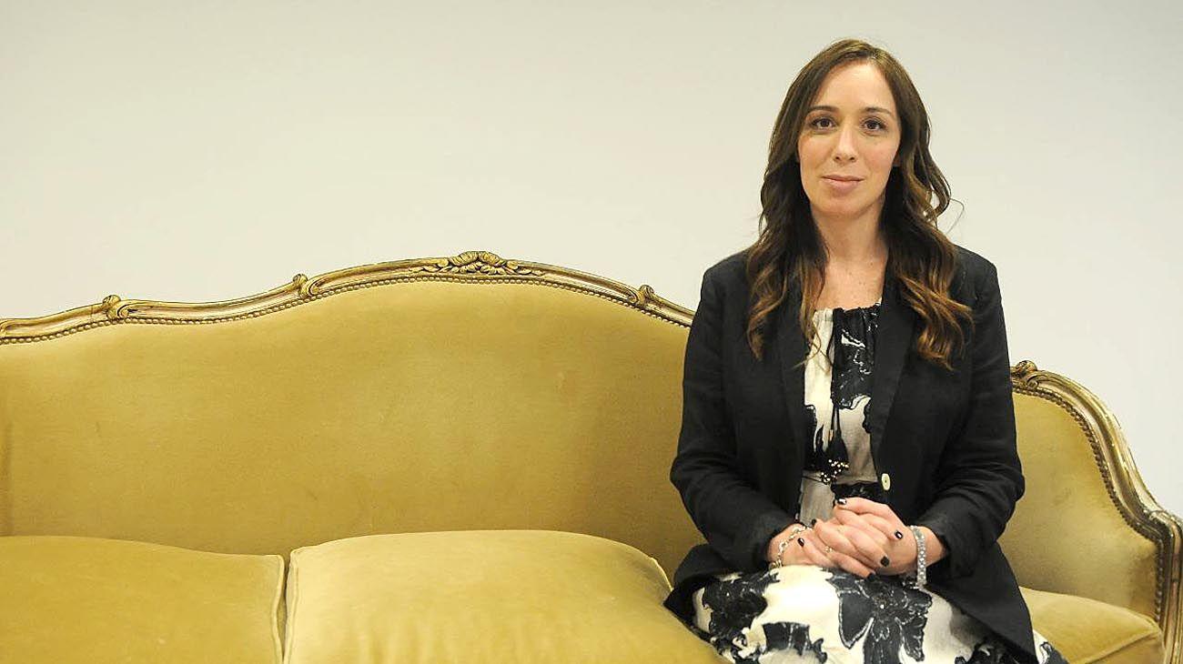 Mandataria. Vidal recibió a PERFIL el viernes en su oficina montada en el Museo Ferroviario del barrio porteño de Retiro.
