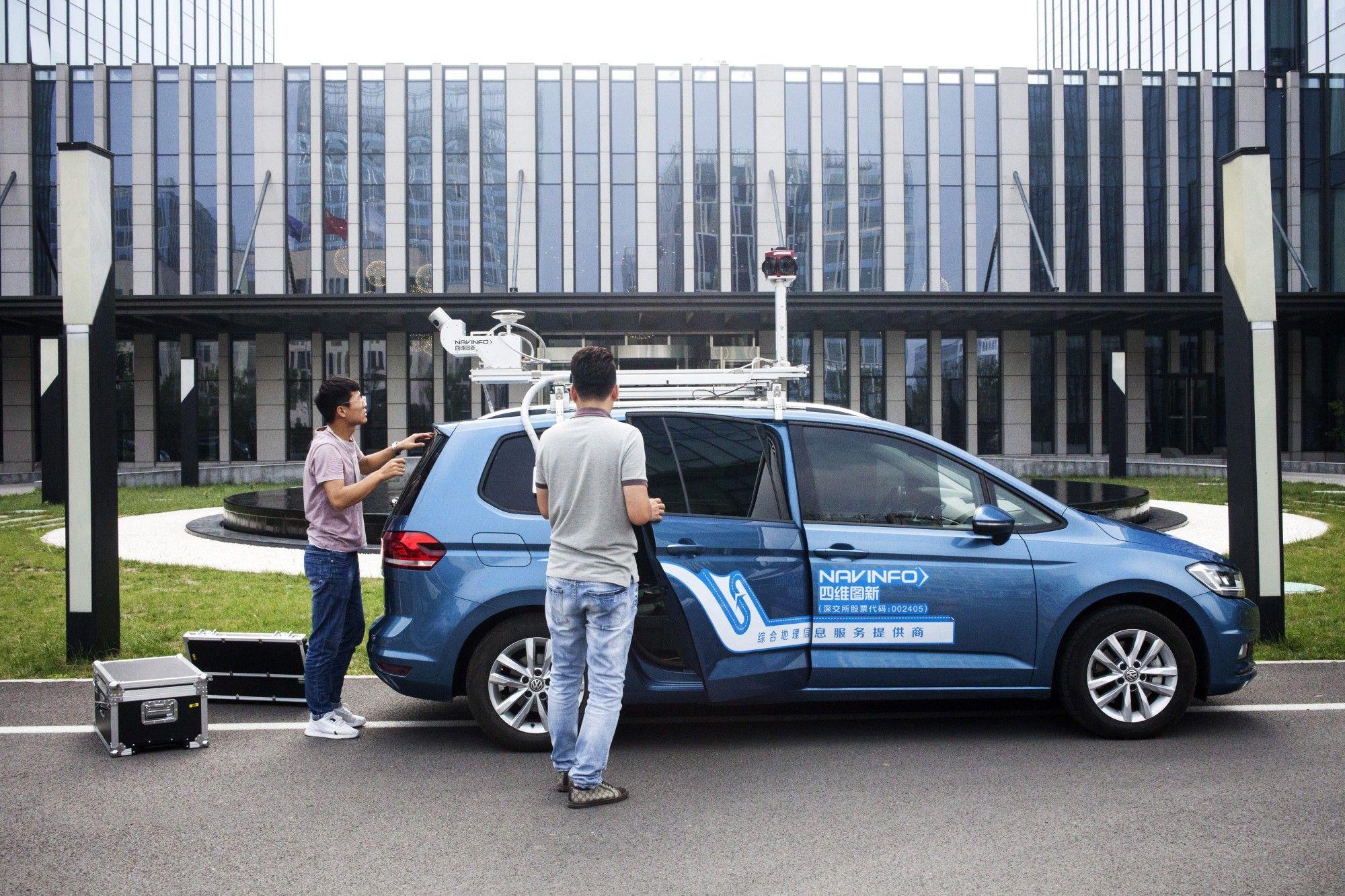 Operations at NavInfo as China Develops Next Generation of Digital Maps