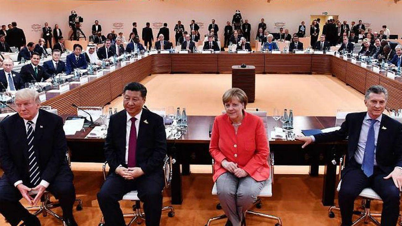 La cumbre del G-20 tuvo lugar en año pasado en Alemania.