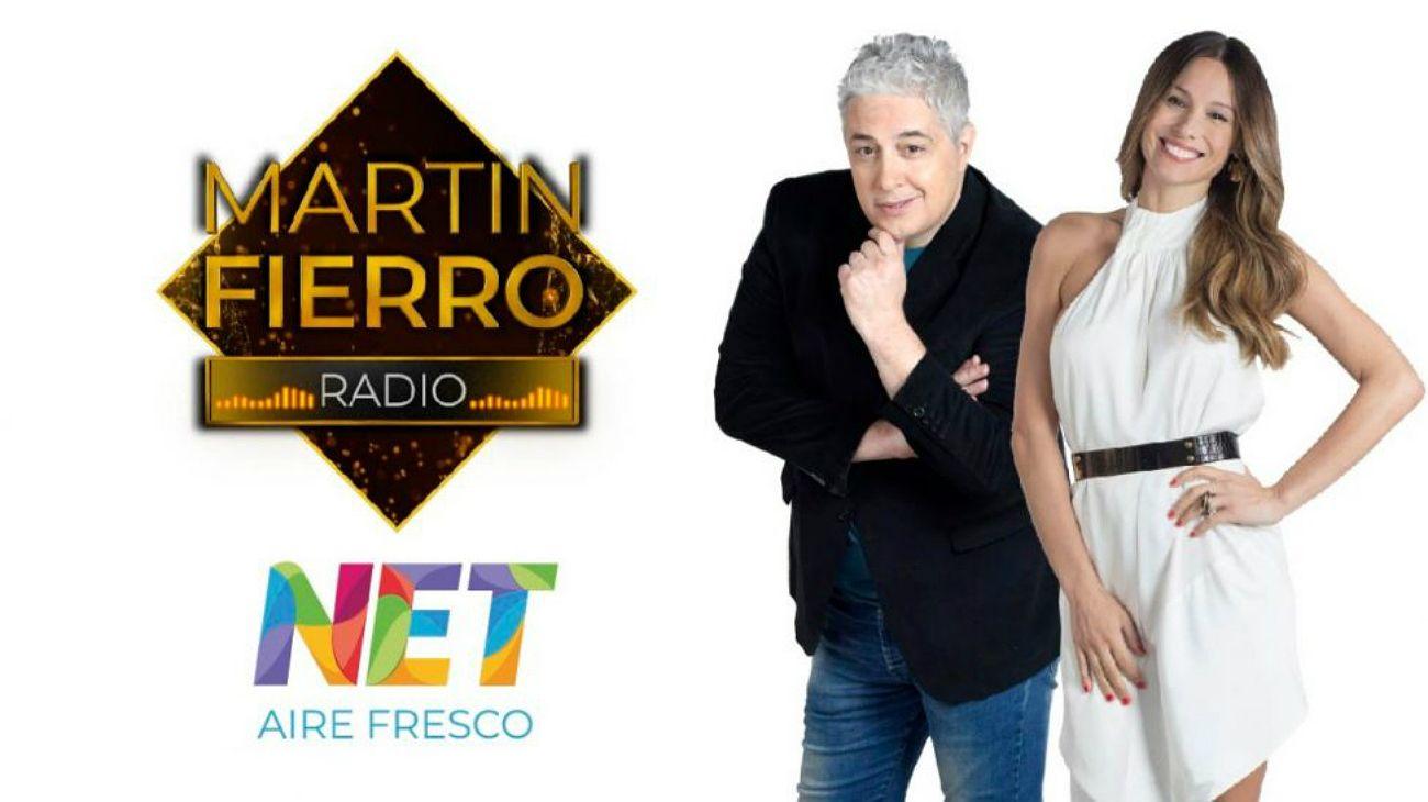 Net TV transmite los Martín Fierro de Radio