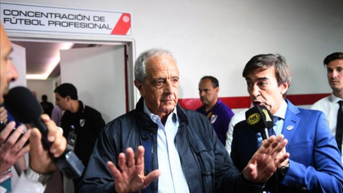 River club president Rodolfo D'Onofrio.
