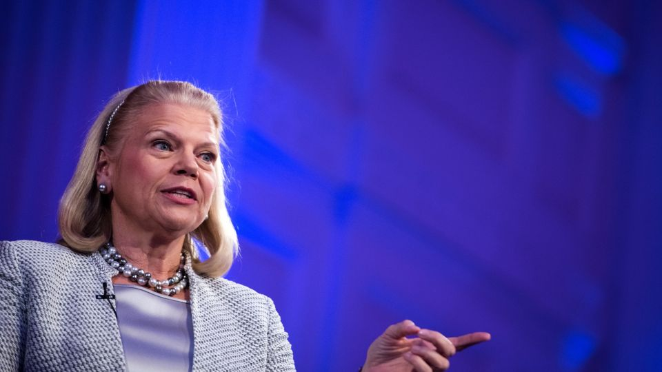 IBM Chief Executive Officer Ginni Rometty Speaks At ECNY Luncheon