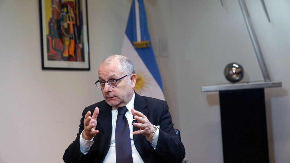 Argentina's Foreign Affairs Minister Jorge Faurie Interview