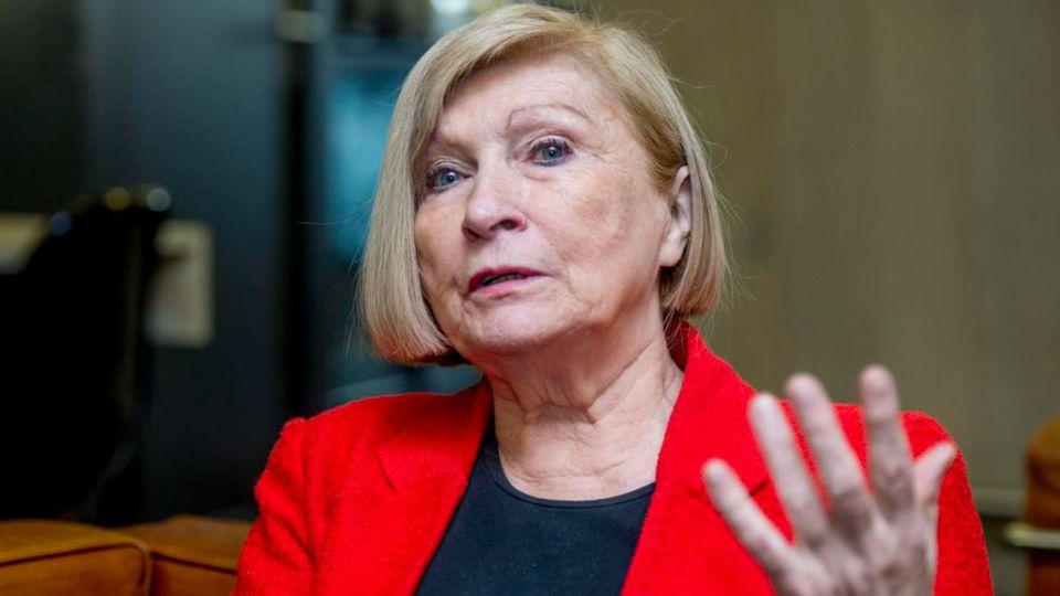 La politóloga belga Chantal Mouffe