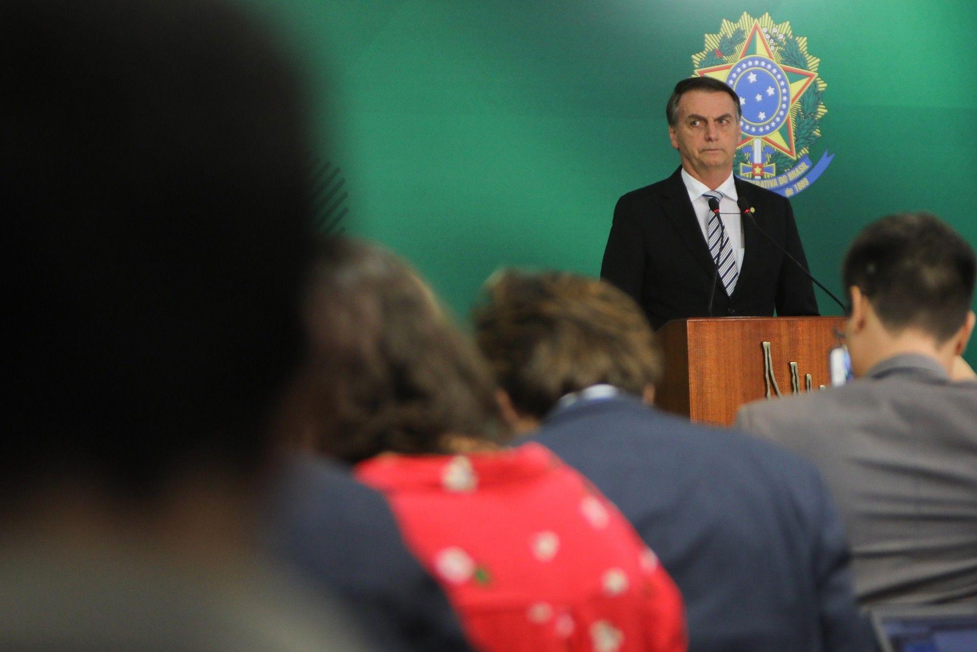 Jair Bolsonaro quiere una política exterior al estilo Donald Trump