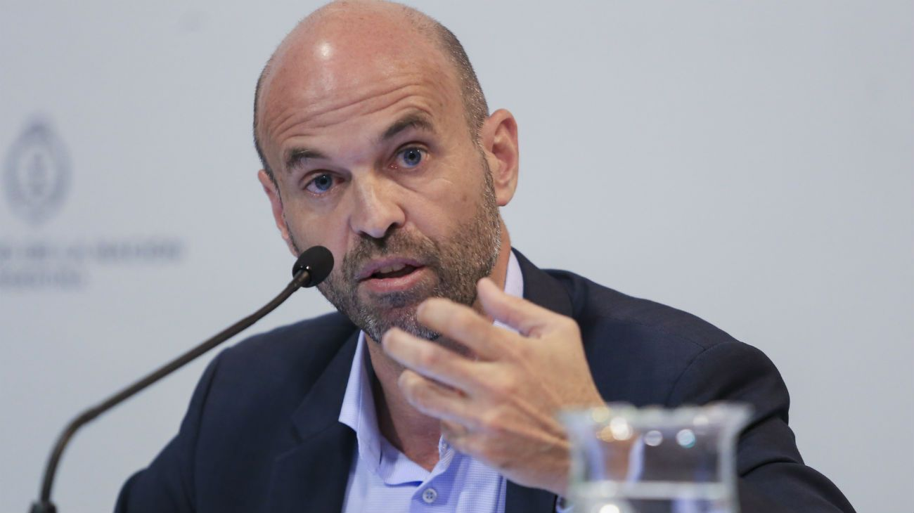 Guillermo Dietrich, ministro de Transporte.