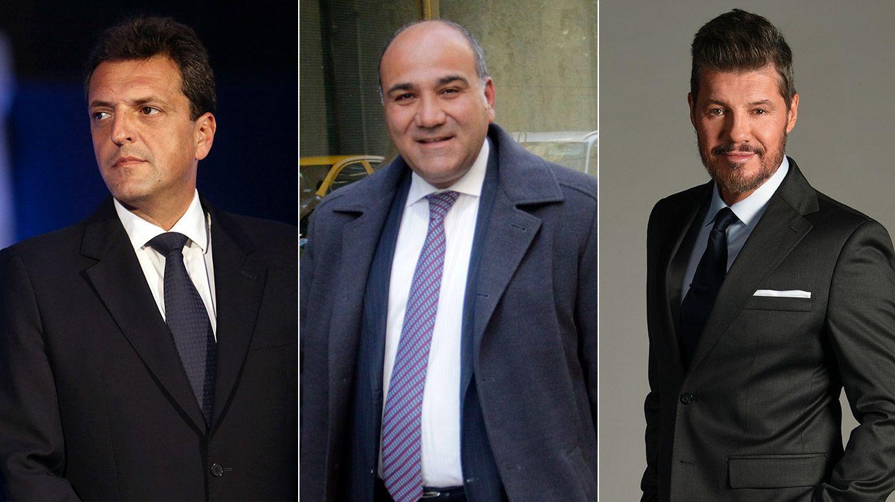 """Precalienta el PJ: Massa se reunió con Manzur y Tinelli se acerca a sus """"raíces"""""""