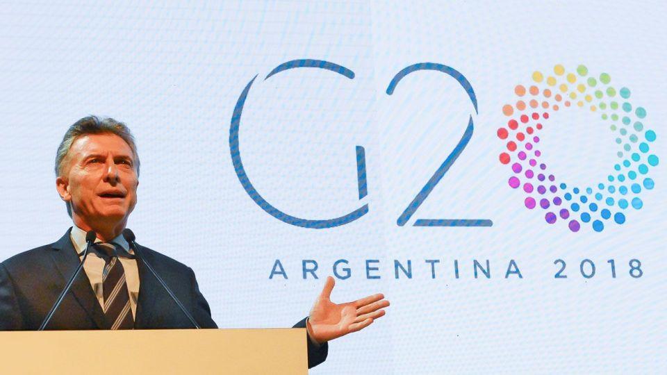 Mauricio Macri presidirá esta Cumbre del G20.