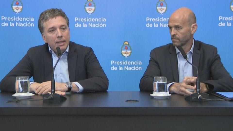 Nicolás Dujovne, el ministro de Hacienda habló sobre el alza del Dólar.