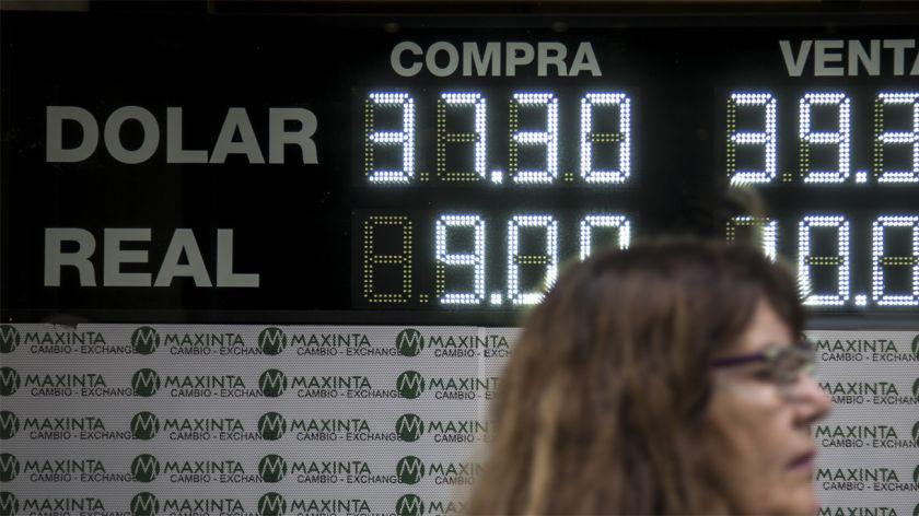 Cotiza en alza a $38,80 en el Banco Nación — Dólar hoy