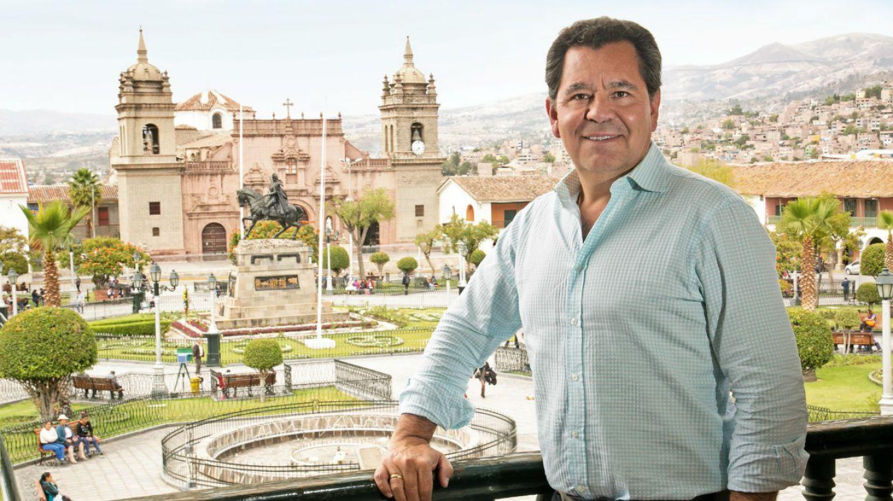 Carlos Añaños, el empresario que está revitalizando a Ayacucho en Perú.