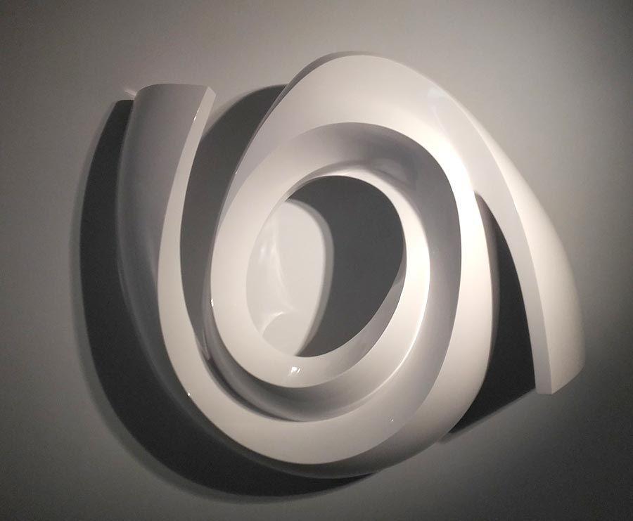 María Boneo, El sonido luminoso de las formas. Galería MCMC