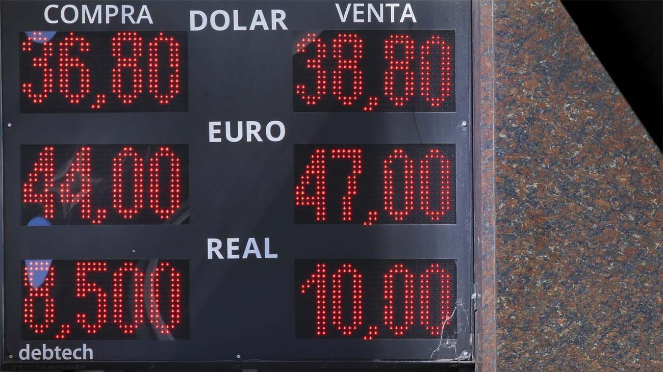 La cotización del dólar.