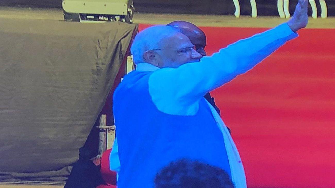 G20 zen: el Primer Ministro de India dio una clase de yoga en La Rural