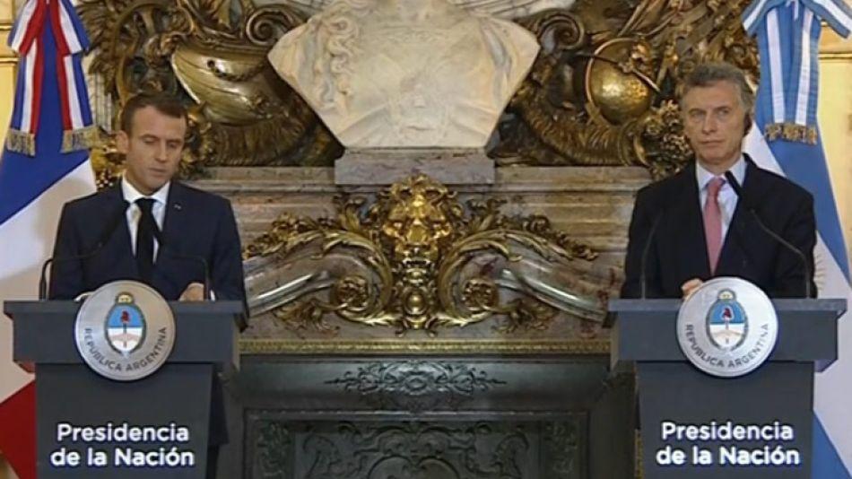 Qué quiere Macri de Macron