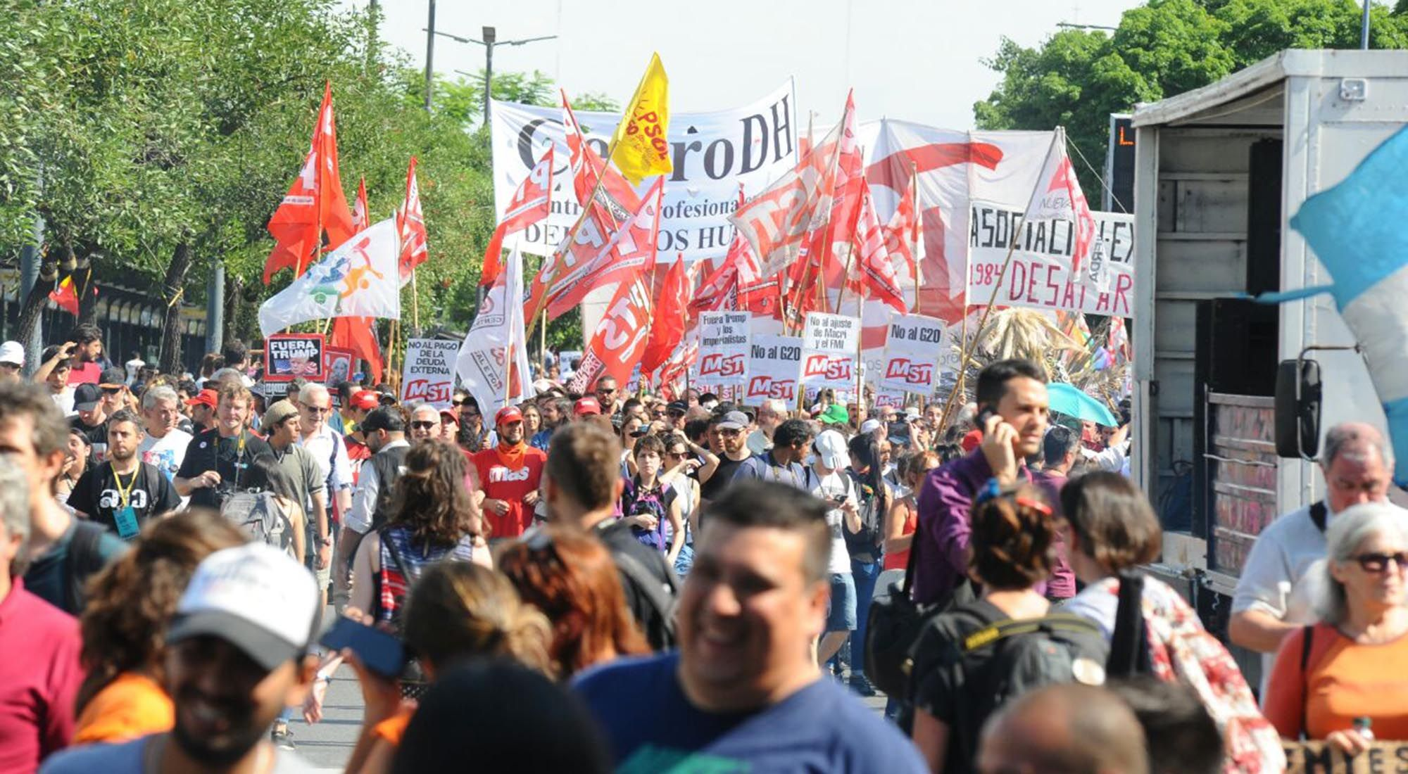 Marcha anti G20