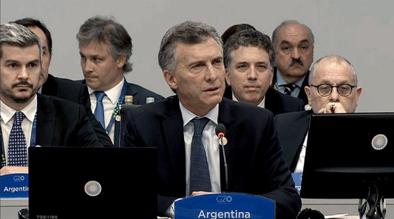 Mauricio Macri abrió la cumbre del G20