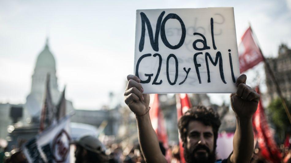 fotos marcha g20 dpa