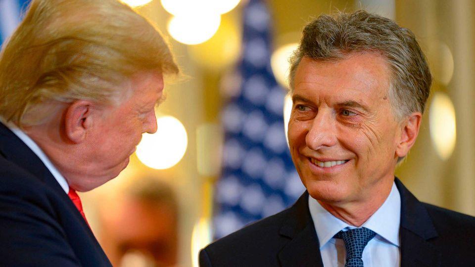 El presidente Macri recibó al presidente de los Estados Unidos, Dondald Trump