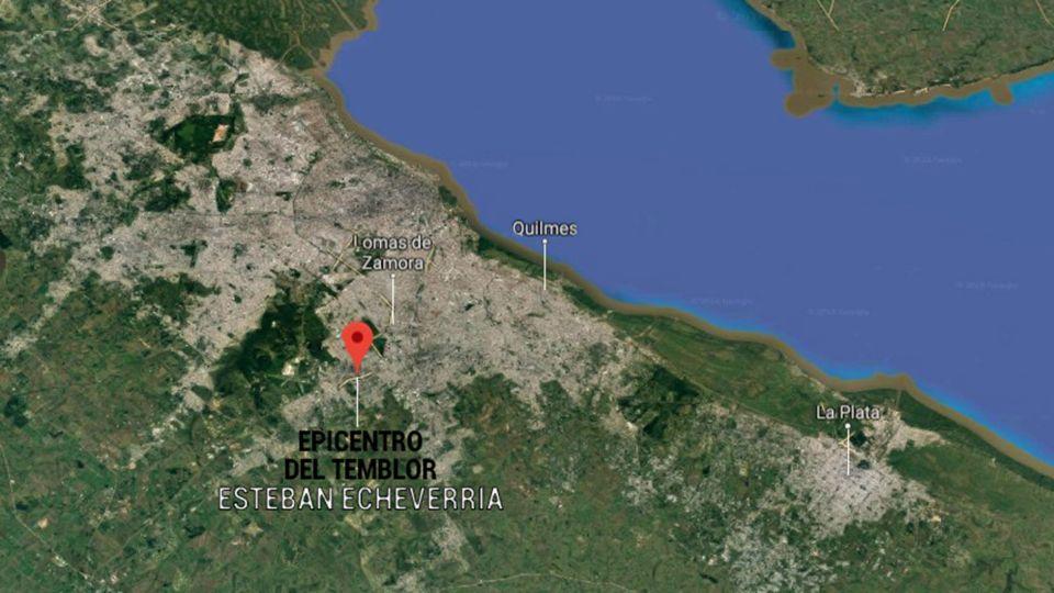 mapa epicentro temblor