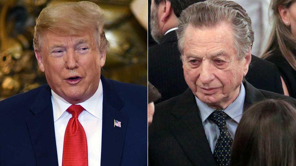 Donald Trump y Franco Macri