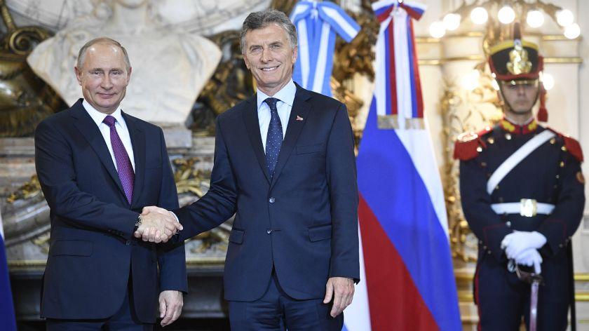 El show de Trump: desplante a Macri y enojo con el traductor