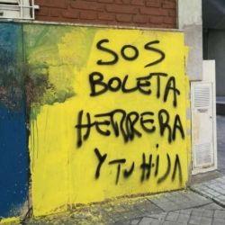 Amenazas a Germán Herrera en Rosario