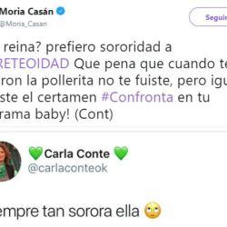 1217_Moria_Casan_Carla_Conte_Twitter_G1