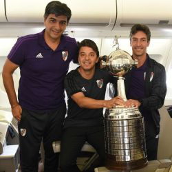 river avion ezeiza regreso campeon @CARPoficial 5