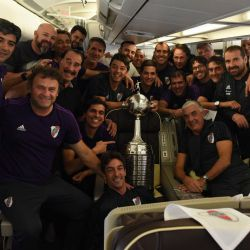river avion ezeiza regreso campeon @CARPoficial