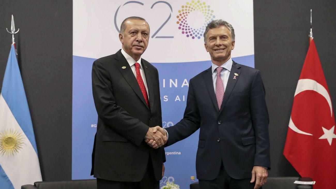 """Macri y Erdogan coincidieron en que se debe llegar """"a la verdad"""" sobre el crimen de Khashoggi"""