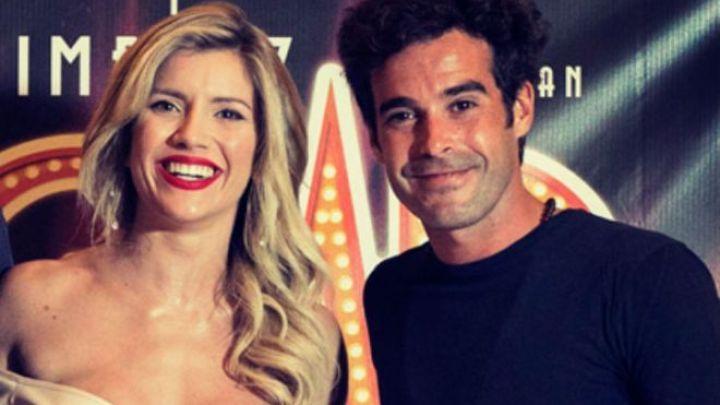 Las fotos de Nicolás Cabré y Laurita Fernández, juntos en su nuevo proyecto laboral
