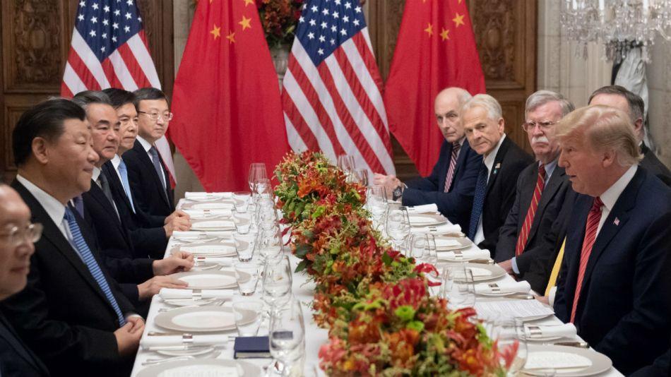 cumbre g20 cena xi jinping donald trump 20180112