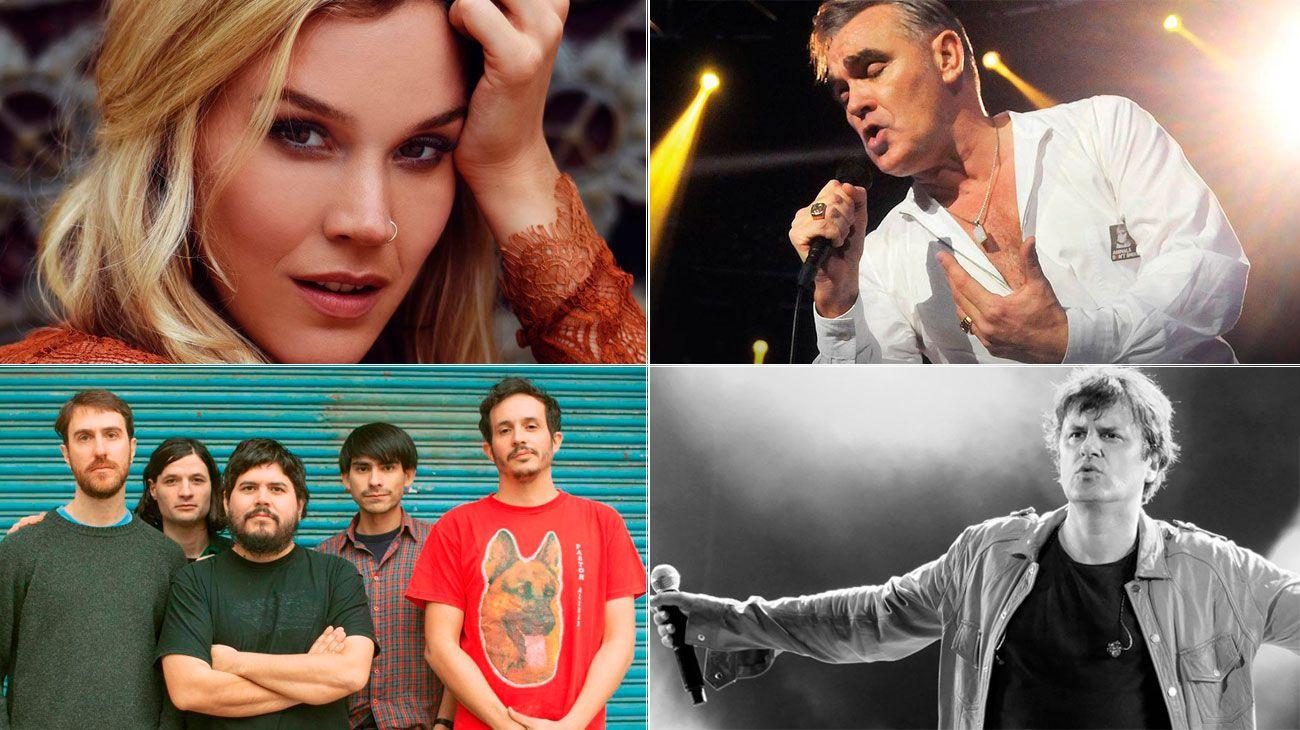 Shows musicales recomendados para el mes de diciembre