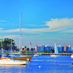 la activa vida de la capital uruguaya