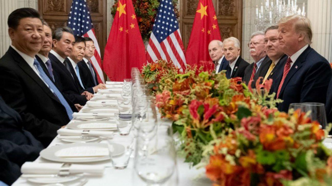 Así fue la cena entre Donald Trump y Xi Jinping en Buenos Aires