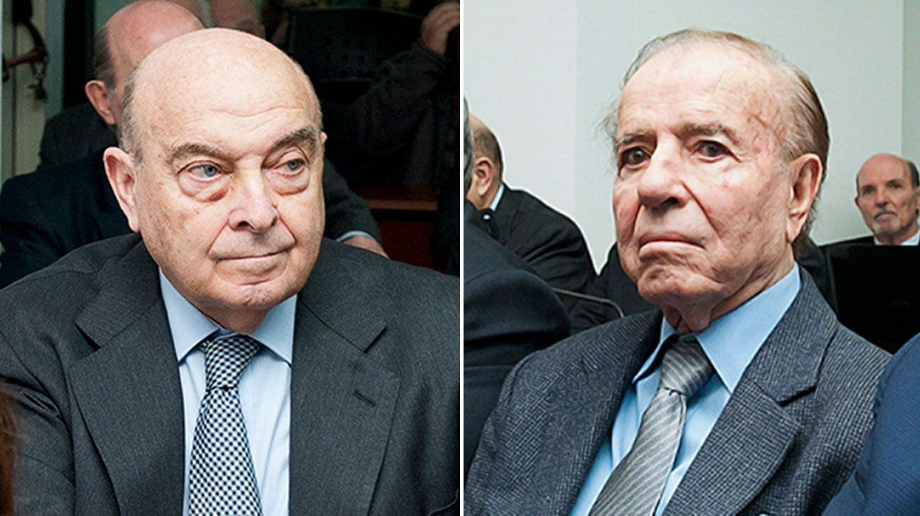 Piden penas de 4 y 3 años de prisión para Cavallo y Menem.