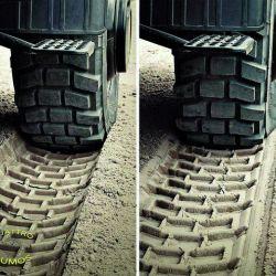 La arena es una de las superficies más divertidas y difíciles de transitar. Qué hacer si se corre el neumático de nuestra 4x4. Por qué hay que bajar la presión.