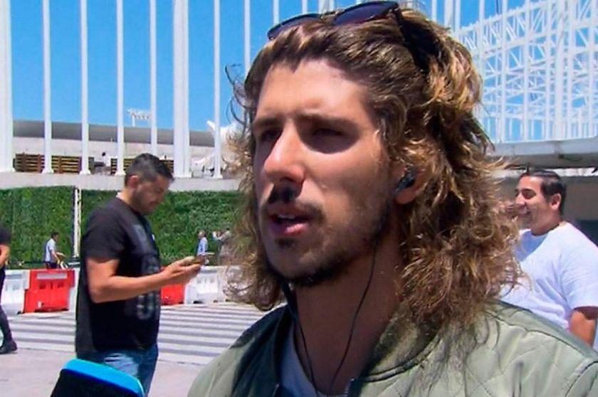 Pasajeros del Tren Mitre escracharon a Rodrigo Eguillor