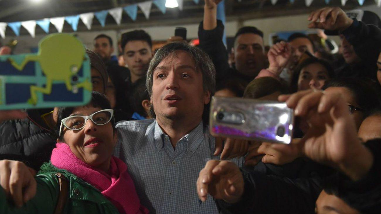 "Máximo Kirchner: ""Todo el mundo sabía quien era Macri"""