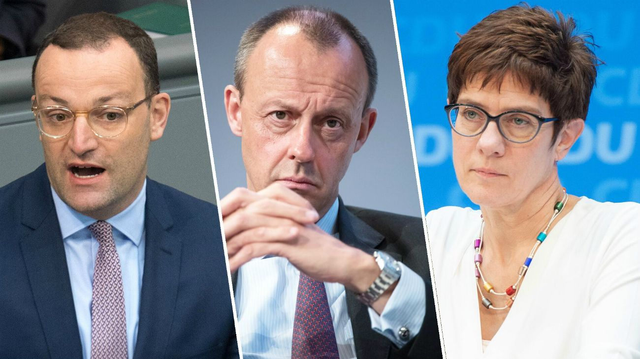 El adiós de Merkel al poder: el partido de la canciller elige a su sucesor