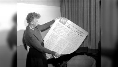 Eleanor Roosevelt, Presidente de la Comisión de Derechos Humanos para la Declaración Universal de Derecho