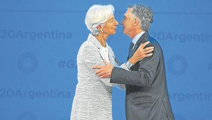 RESPALDO. El FMI le prestará al país más de US$ 56 mil millones hasta 2020.