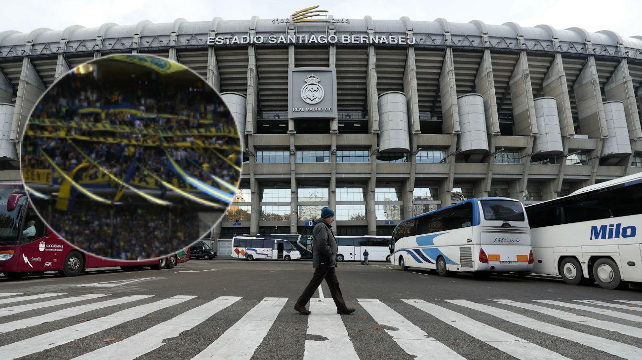 La tercera y cuarta línea de La Doce, la barra oficial de Boca, estará en la final de la Libertadores en el Bernabeu.