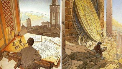 Eterno presente. La historia se desarrolla en un continente ubicado en un mundo paralelo.