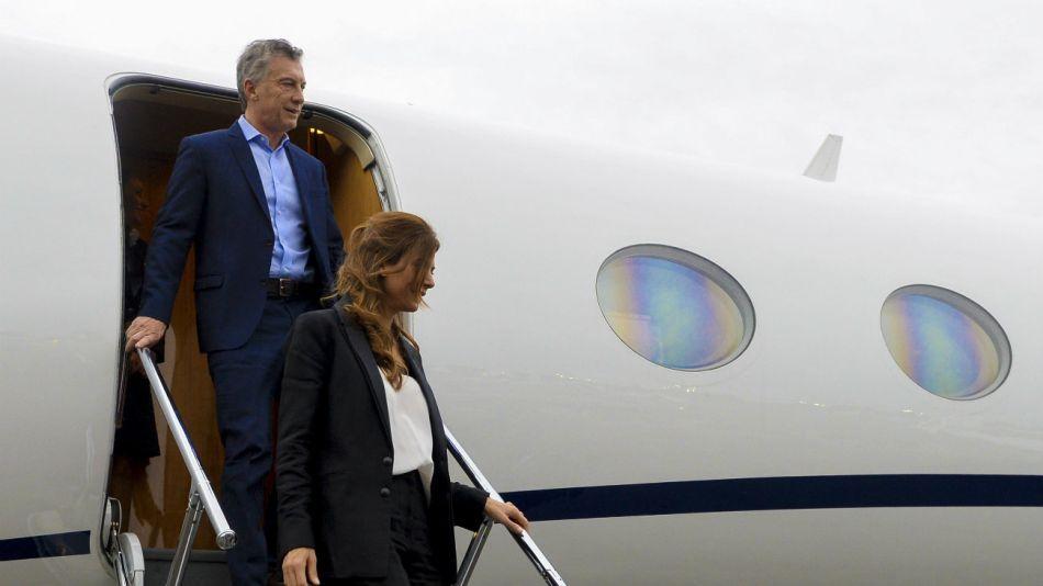 Mauricio Macri y Juliana Awada